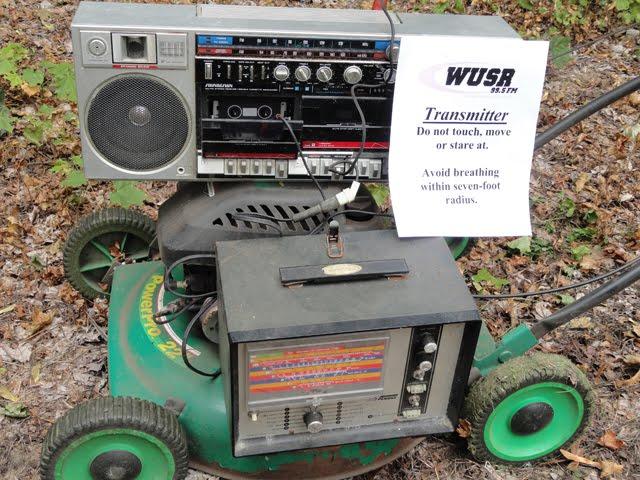 The WUSR Transmitter