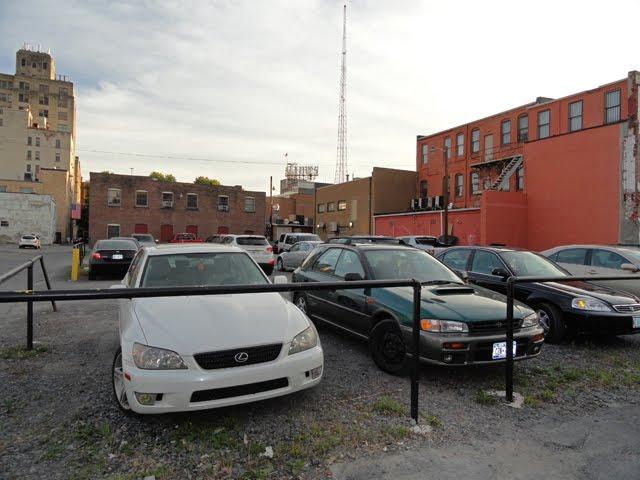 Still a vacant lot